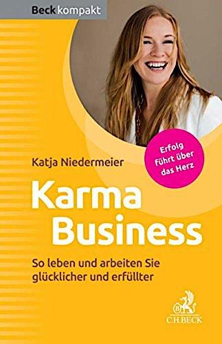 Buch Cover Karma Business von Katja Niedermeier